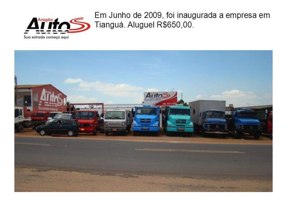 Pesquisa no IBGE com caminhão / 1000 hab. Média do Ceará 5 caminhões/ 1000hab Sobral5 caminhões/ 1000hab Fortaleza7 caminhões/ 1000hab Tianguá 15 cami
