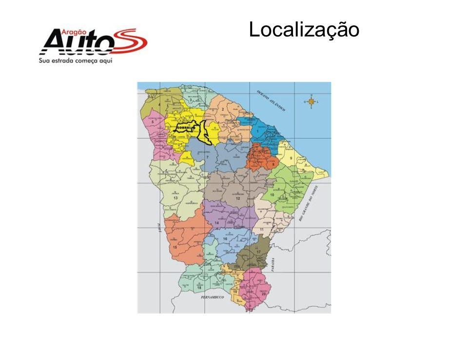 A Empresa A Aragão Autos conta com 3 lojas Área coberta total de 10.000m2 Venda média de 60 caminhões por mês Início das atividades em pesados em 2008