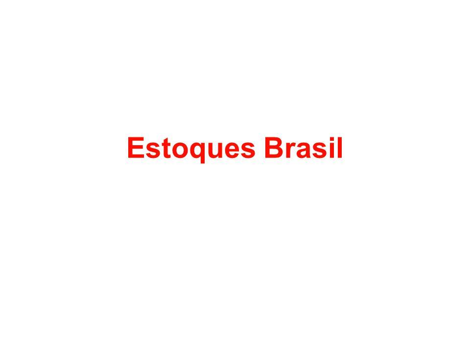 Estoques Brasil