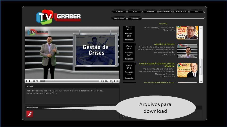 Arquivos para download
