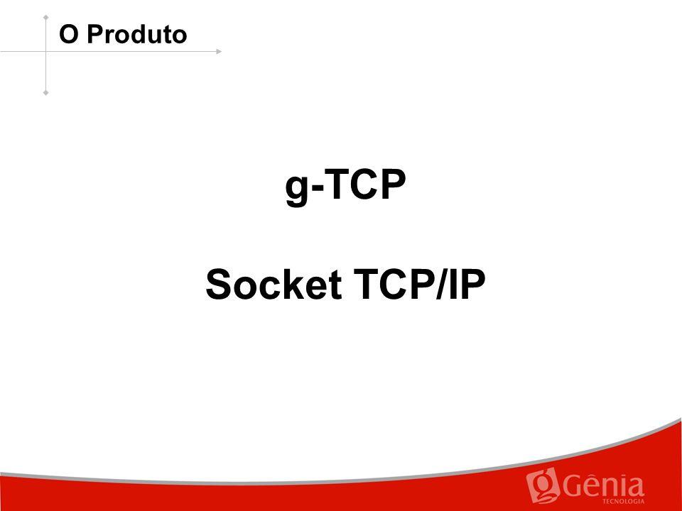 O Produto g-TCP Socket TCP/IP