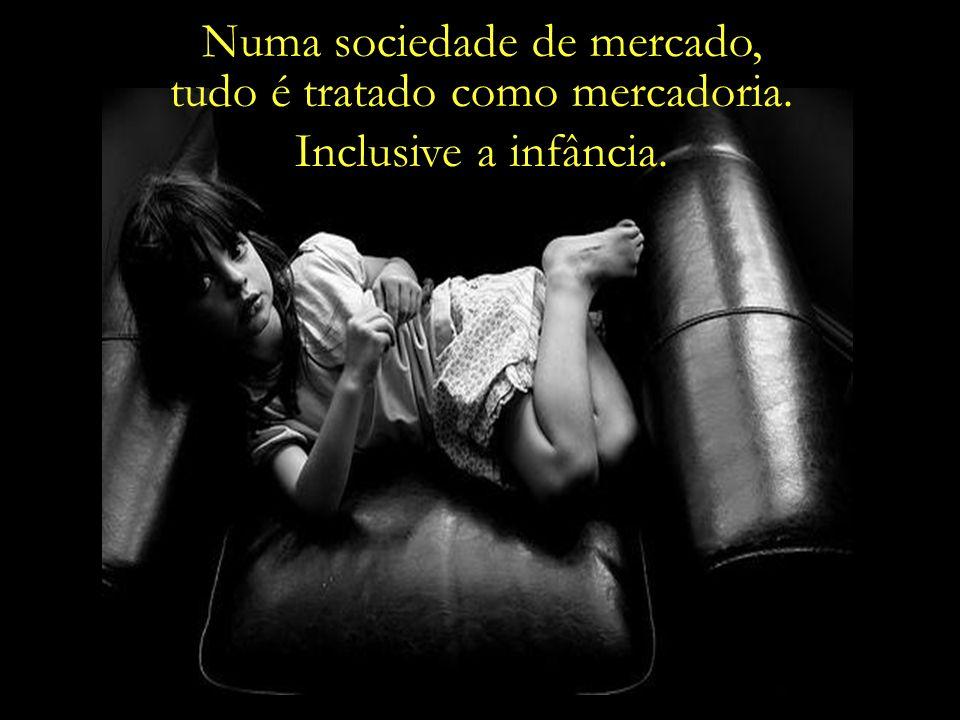 Na atual sociedade de consumo, a exposição excessiva a valores materiais está arruinando o bem-estar das crianças.