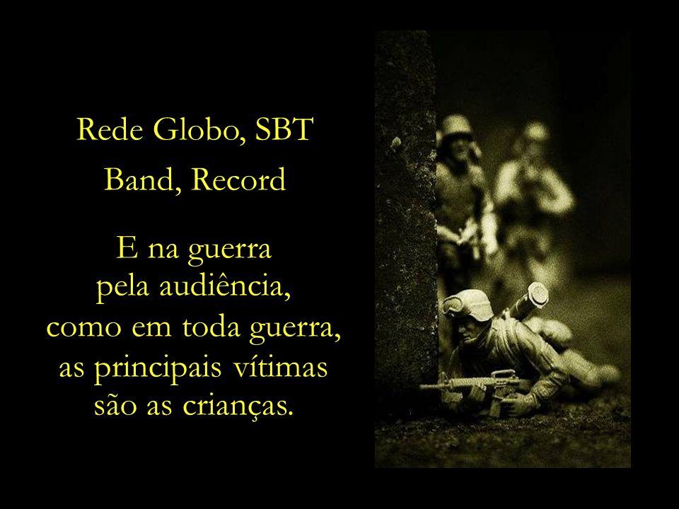 Ainda segundo o Ibope, as crianças brasileiras ficam expostas a aproximadamente 40 mil propagandas em um ano.