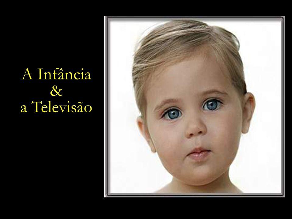 Segundo dados do Ibope, as crianças brasileiras ficam expostas a aproximadamente 40 mil propagandas em um ano.