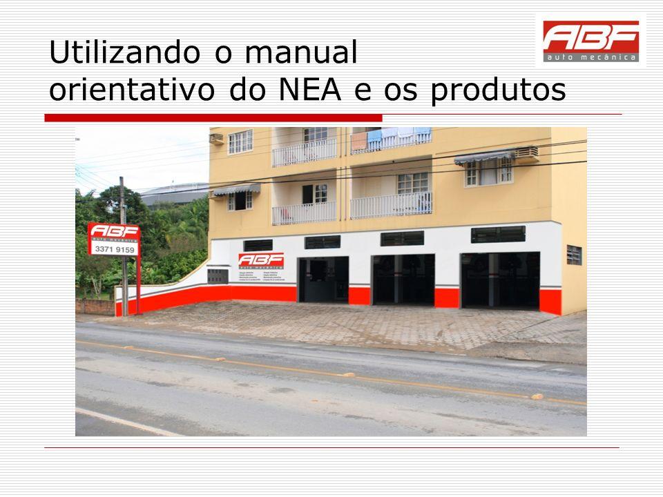 Utilizando o manual orientativo do NEA e os produtos