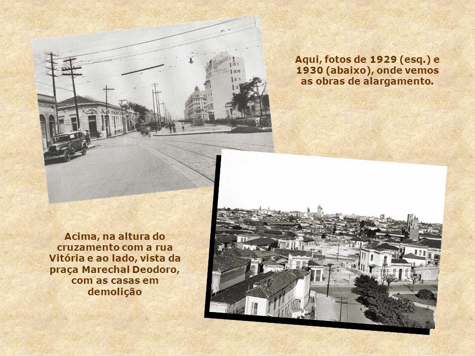 Em 1922, como parte das festividades do centenário da independência, era inaugurado o edifício-sede dos correios, situado na esquina da São João com a