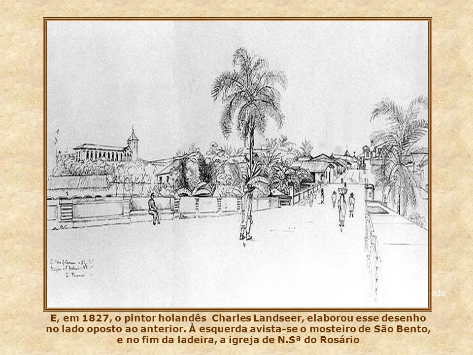 Aqui, fotos de 1929 (esq.) e 1930 (abaixo), onde vemos as obras de alargamento.