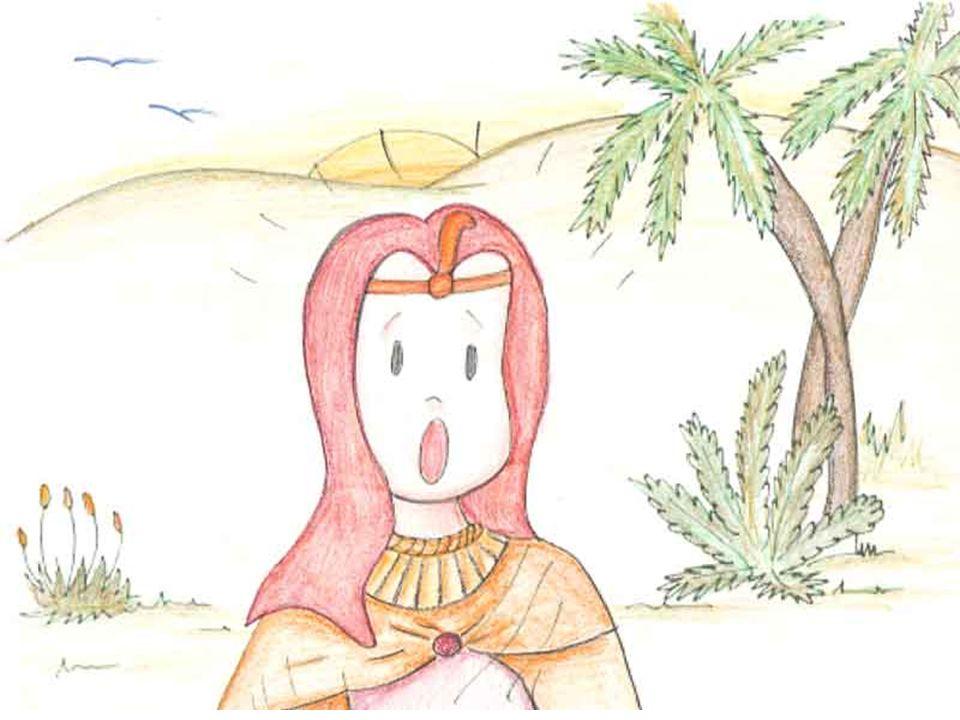 Moisés era um lindo menino hebreu, filho de escravos.