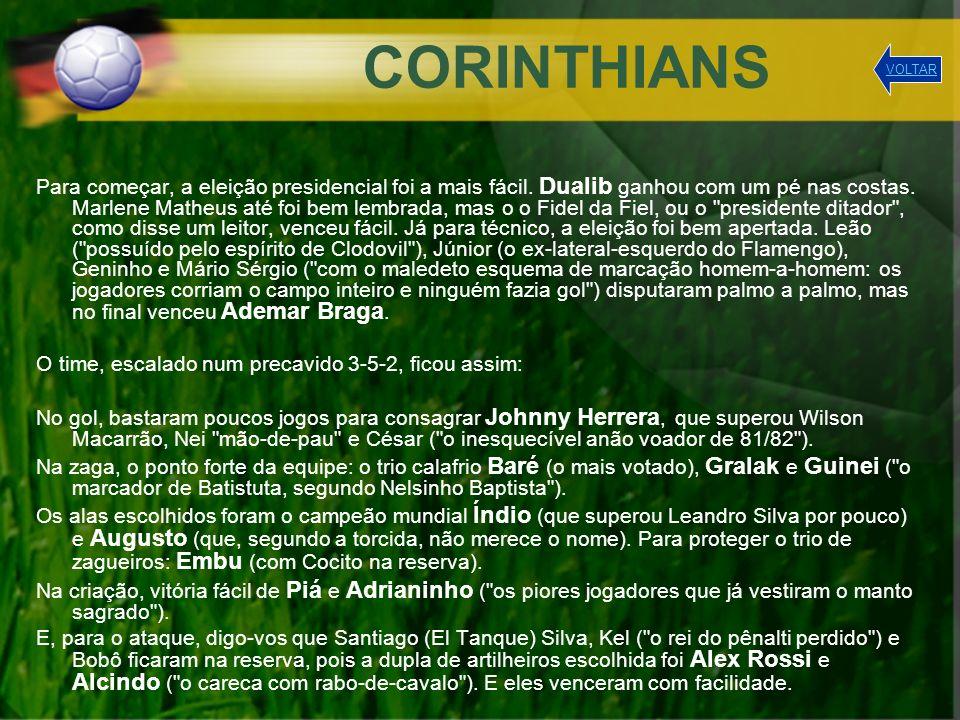 SPORT O encarnado e preto Sport Club do Recife entrará nesta Copa dos Pesadelos com um time à altura (ou à baixura) de todos os outros contendores.