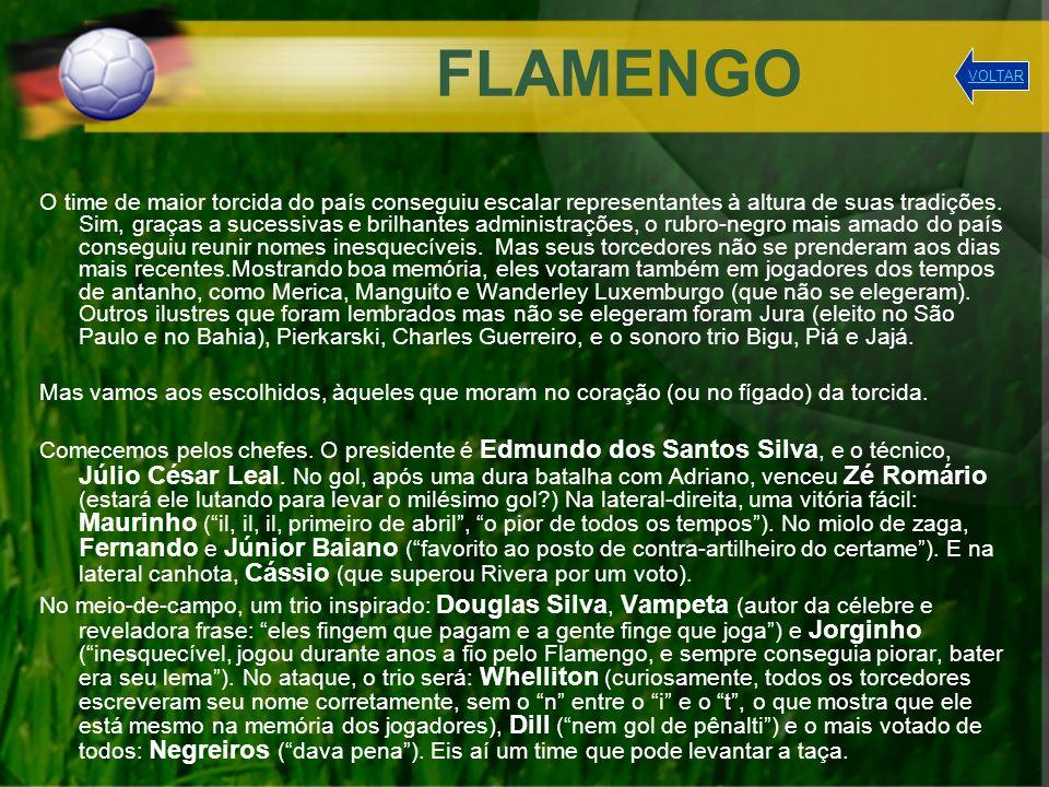 QUIZ 1) Quantos acarajés Vampeta comeu até aqui em toda a Copa (contando apenas os jogos disputados pelo Flamengo).