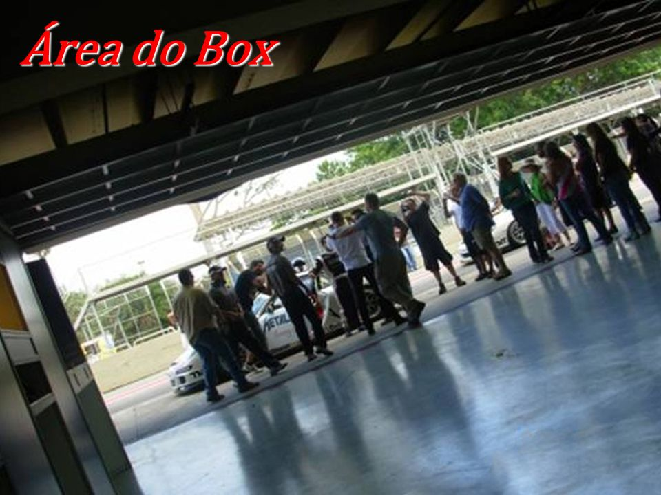 Área do Box Área do Box