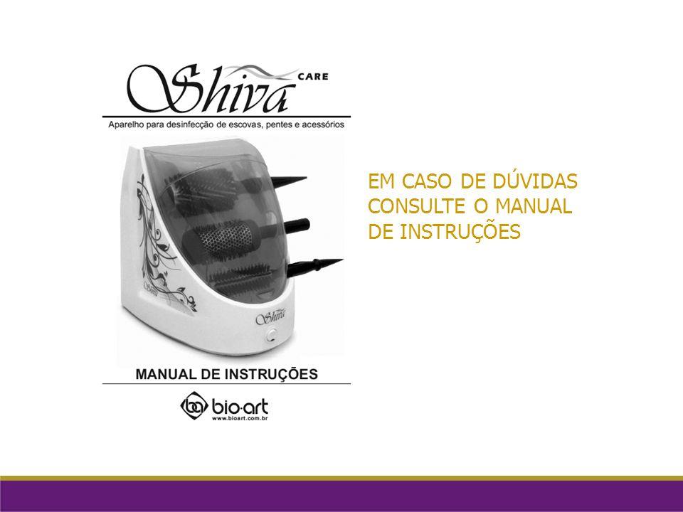 EM CASO DE DÚVIDAS CONSULTE O MANUAL DE INSTRUÇÕES