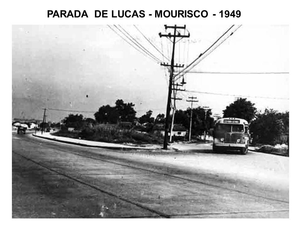 NOVA IGUAÇU – PRAÇA MAUÁ – 1949 Passando por Bento Ribeiro