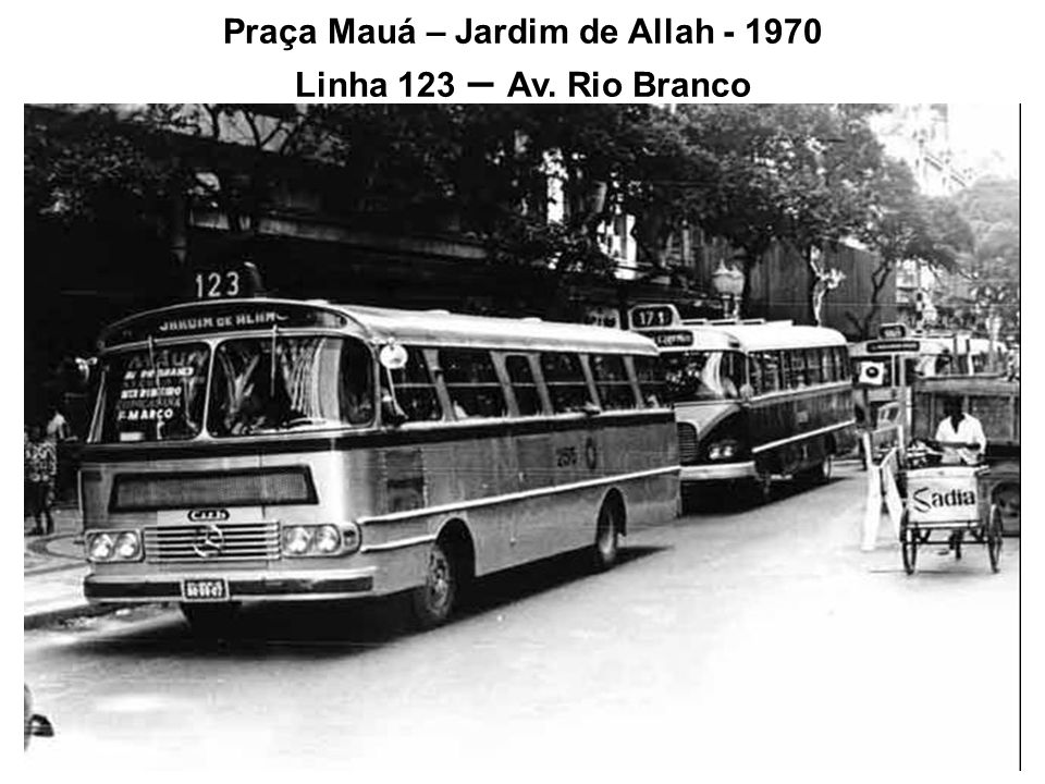 Marquês de São Vicente – Gávea – 1968 Linha 546 em frente à PUC