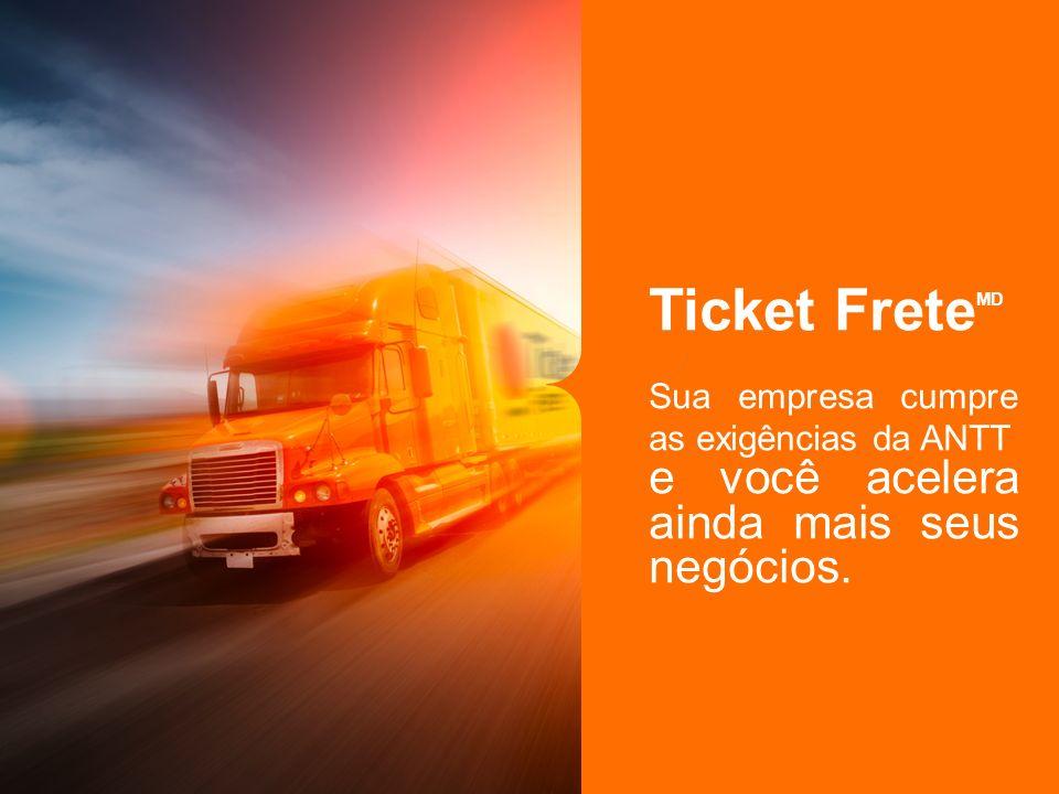 Ticket Frete MD Sua empresa cumpre as exigências da ANTT e você acelera ainda mais seus negócios.