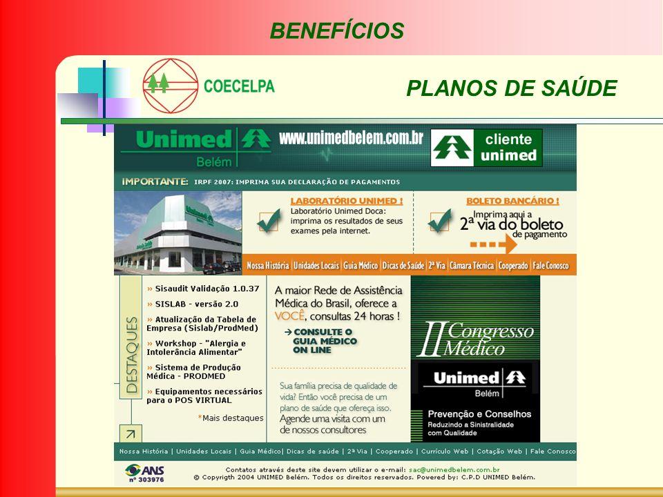 BENEFÍCIOS PLANOS DE SAÚDE