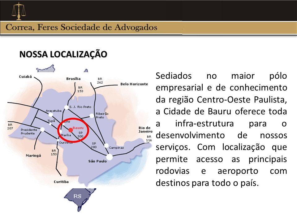Sediados no maior pólo empresarial e de conhecimento da região Centro-Oeste Paulista, a Cidade de Bauru oferece toda a infra-estrutura para o desenvol
