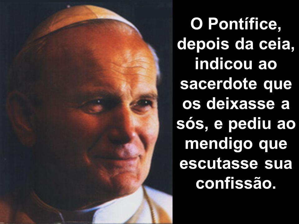 O sacerdote voltou à paróquia e comentou a seu amigo o desejo do Papa. Uma vez convencido o mendigo, o levou a seu lugar de hospedagem, ofereceu-lhe r