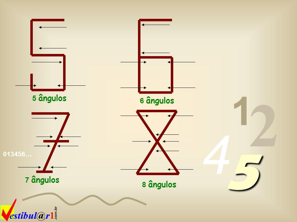 1 2 4 5 5 ângulos 6 ângulos 7 ângulos 8 ângulos