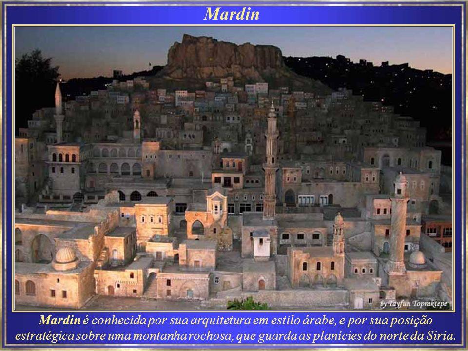Mardin - Sultan Isa Medresesi Turkish Architecture - details Konya - Ince Minare Museum