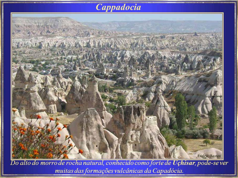 Cappadocia Capadócia era o nome original de extensa área interior da Ásia Menor (hoje parte da moderna Turquia).