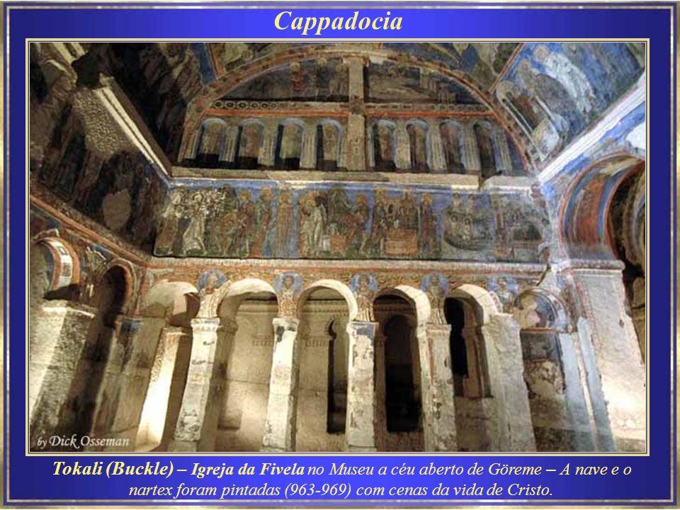 Cappadocia Museu Göreme - Externamente nada chama a atenção.