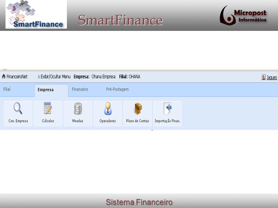 Sistema Financeiro SmartFinance
