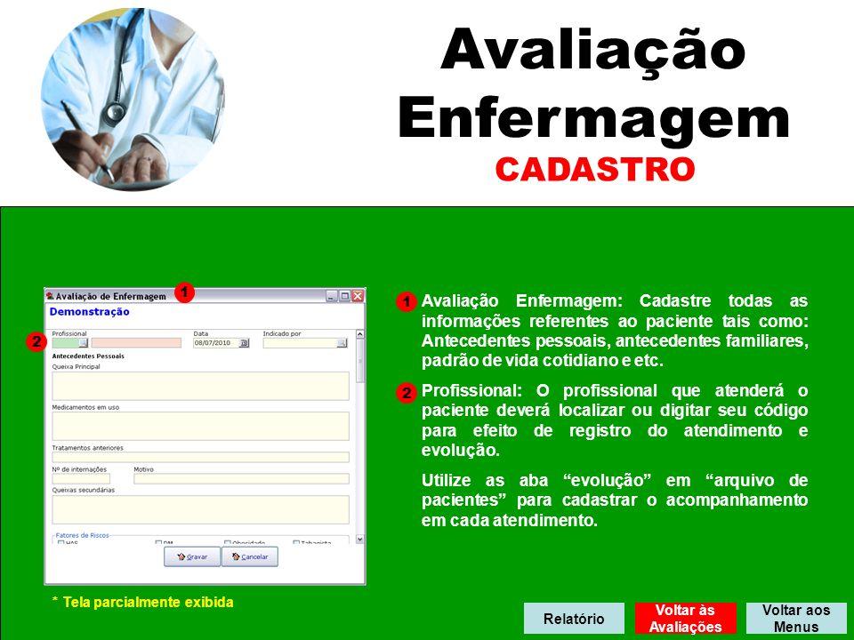 Profissionais Nesta tela serão cadastrados todos os profissionais envolvidos com a medicina preventiva.