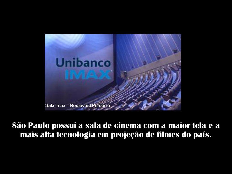 mais de 120 teatros e casas de show 90 museus 39 centros culturais. São mais de 100 peças teatrais por semana, ou 4.800 peças por ano. São Paulo tem..