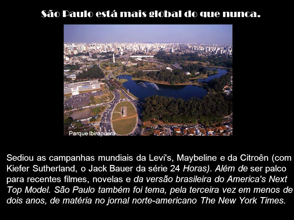a 3ª maior cidade italiana do mundo. a maior cidade japonesa fora do Japão. a maior cidade portuguesa fora de Portugal. a maior cidade espanhola fora