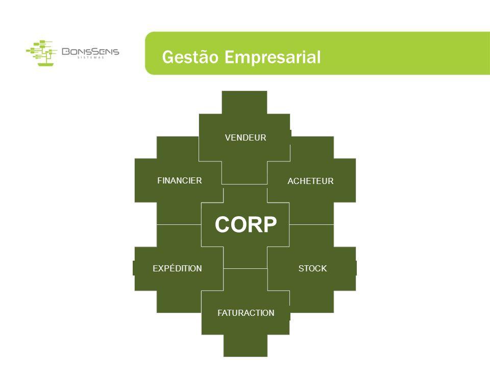 Gestão Empresarial CORP FINANCIER EXPÉDITION STOCK ACHETEUR VENDEUR FATURACTION
