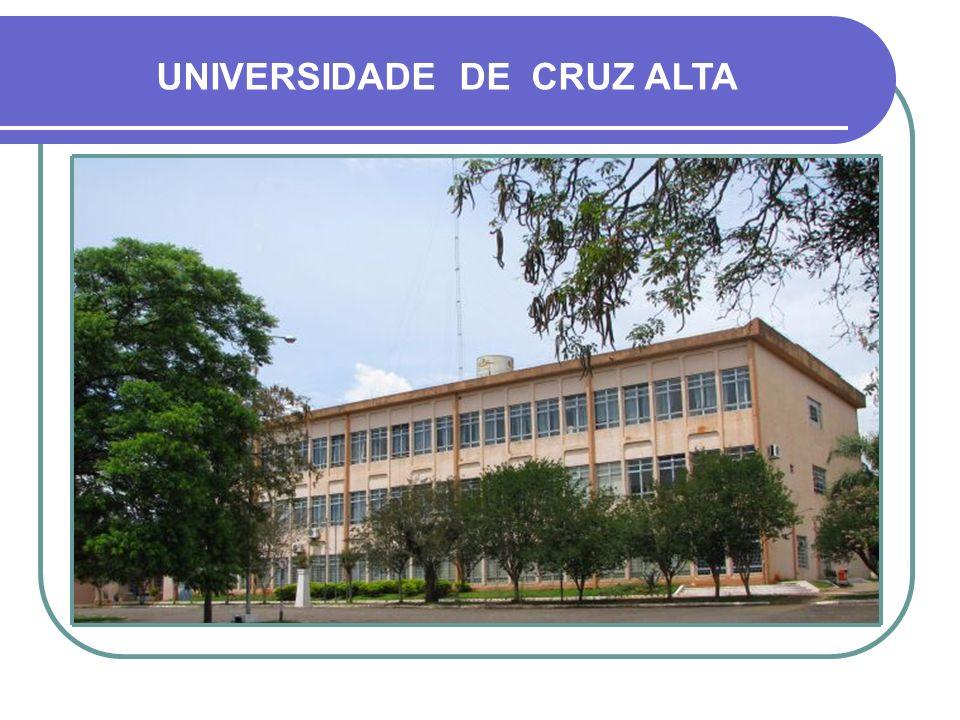 UNIVERSIDADE DE CRUZ ALTA PRÉDIO PRINCIPAL E FACULDADE DE DIREITO - 1984