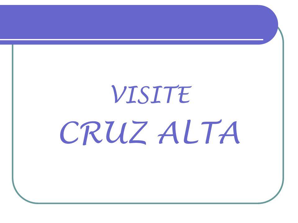 18/08/2010 CRUZ ALTA-RS 189 ANOS Agradecimento especial: Silvio Luzardo Música: EM TEUS BRAÇOS Interpretação: Jairo Lambari Fernandes Fotos atuais e montagem: Alfredo Roeber