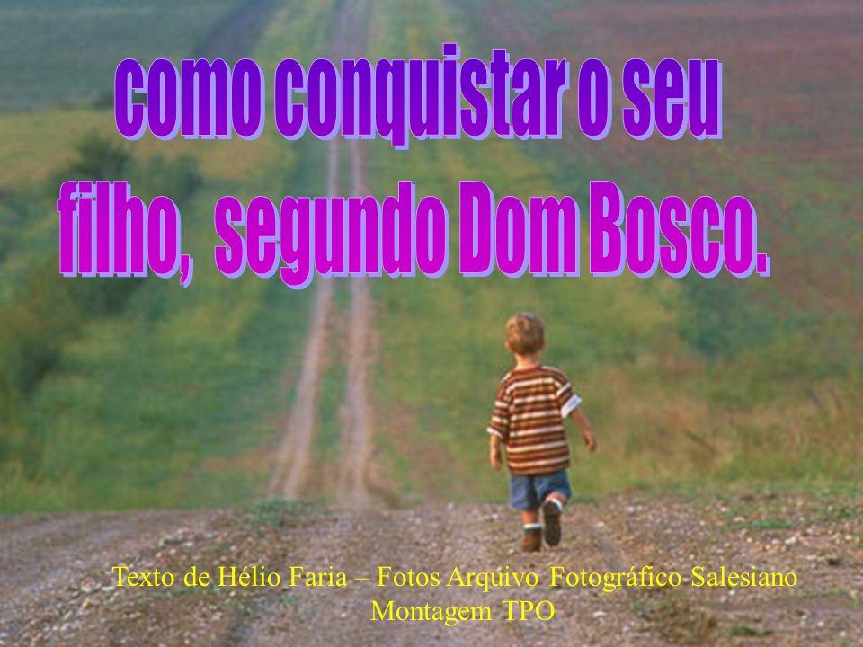 Durante toda a sua vida, depois daqueles dias tão cheios, Dom Bosco se reunia com os meninos para o seu boa-noite.