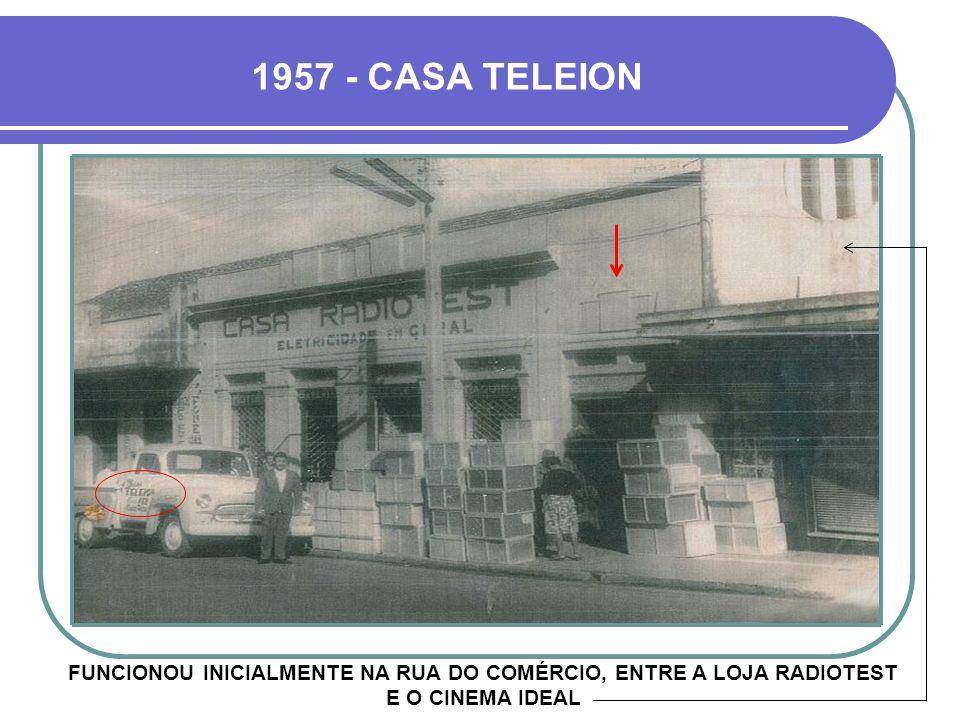 HOJE INAUGURADO EM MARÇO DE 1956, POR MICHEL JEAN DIAMANTOPOULOS