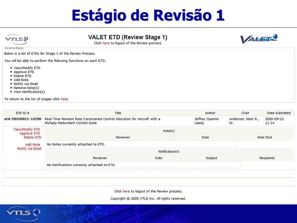 Visionary Technology in Library Solutions Estágio de Revisão 1