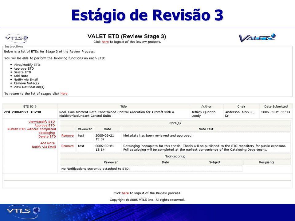 Visionary Technology in Library Solutions Estágio de Revisão 3
