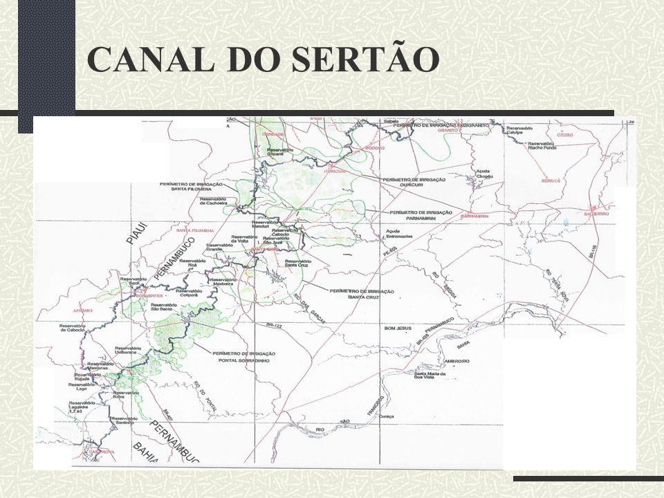 CANAL DO SERTÃO