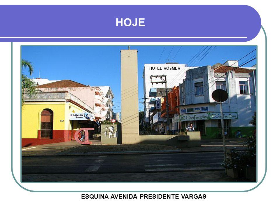 LANÇAMENTO DA CONSTRUÇÃO DOS CALÇADÕES 1979 - RUA PINHEIRO MACHADO
