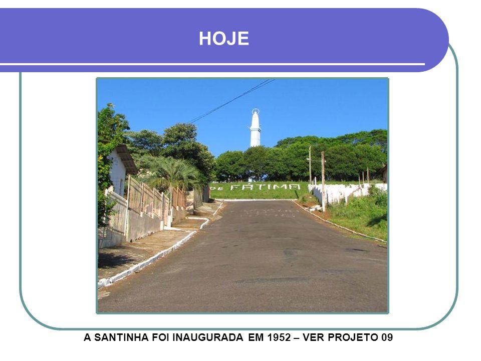 1951 - RUA CORONEL PILLAR MONUMENTO DE FÁTIMA EM CONSTRUÇÃO