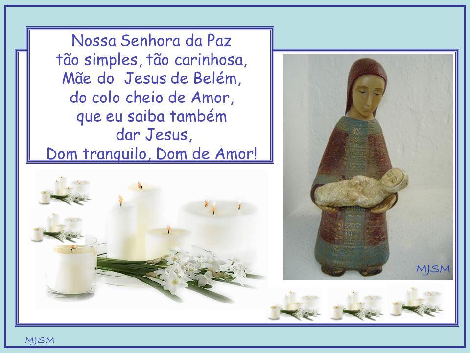 MJSM Nossa Senhora do Silêncio Mãe de Jesus só Amor quero aprender contigo a olhar Jesus assim a tê-Lo nas minhas mãos prontinho para oferecer!