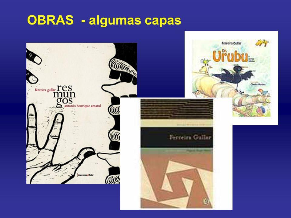 Na opinião de alguns críticos, Ferreira Gullar é atualmente uma das vozes mais expressivas da poesia brasileira. Um traço forte da obra desse maranhen