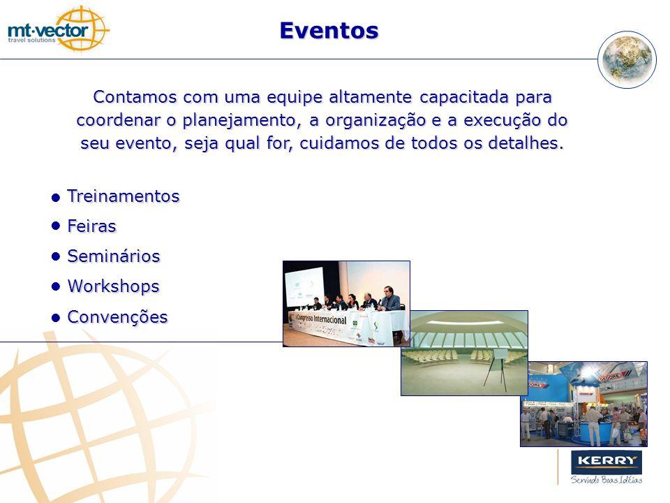 Eventos Contamos com uma equipe altamente capacitada para coordenar o planejamento, a organização e a execução do seu evento, seja qual for, cuidamos de todos os detalhes.