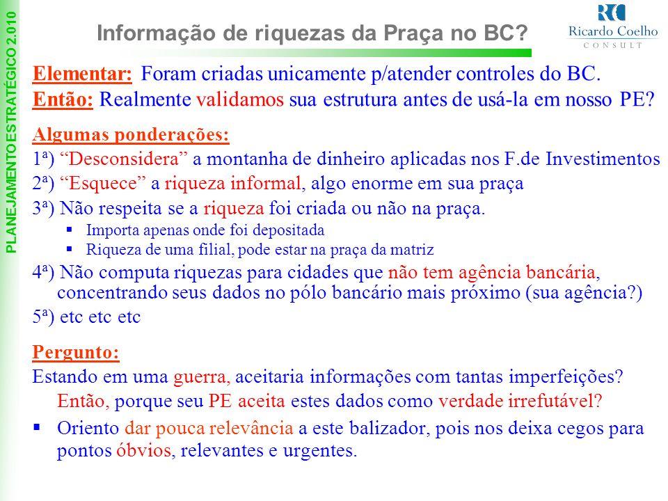 PLANEJAMENTO ESTRATÉGICO 2.010 * Bons e antigos clientes Taxa prox.
