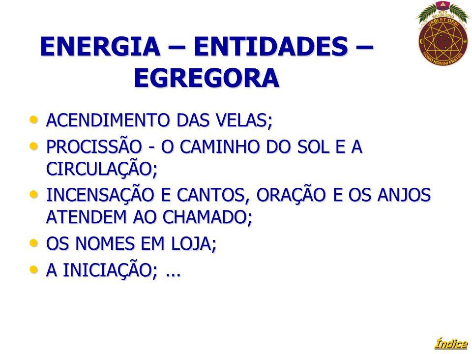 Índice ENERGIA – ENTIDADES – EGREGORA ACENDIMENTO DAS VELAS; ACENDIMENTO DAS VELAS; PROCISSÃO - O CAMINHO DO SOL E A CIRCULAÇÃO; PROCISSÃO - O CAMINHO DO SOL E A CIRCULAÇÃO; INCENSAÇÃO E CANTOS, ORAÇÃO E OS ANJOS ATENDEM AO CHAMADO; INCENSAÇÃO E CANTOS, ORAÇÃO E OS ANJOS ATENDEM AO CHAMADO; OS NOMES EM LOJA; OS NOMES EM LOJA; A INICIAÇÃO;...