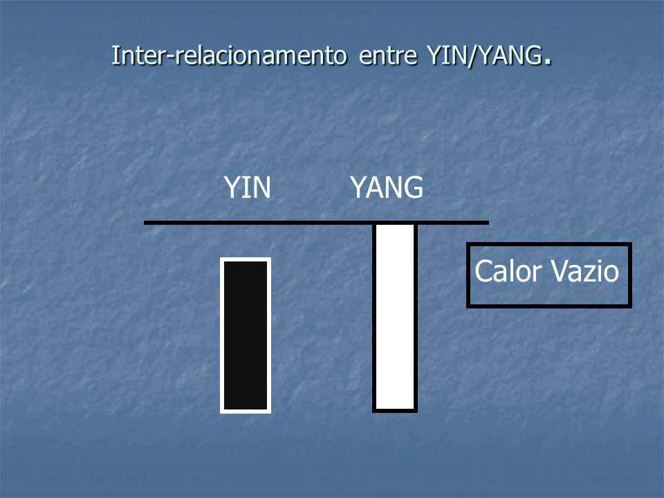 Inter-relacionamento entre YIN/YANG. Calor Vazio YINYANG