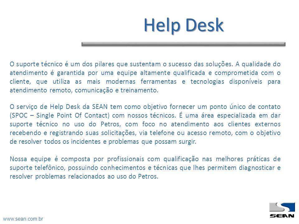 Help Desk O suporte técnico é um dos pilares que sustentam o sucesso das soluções. A qualidade do atendimento é garantida por uma equipe altamente qua