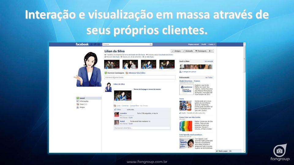 Explorando o máximo que o facebook oferece: Curtir FIXAÇÃO DA SUA MARCA FIXAÇÃO DA SUA MARCA para os seus clientes e para seus amigos (prospects)