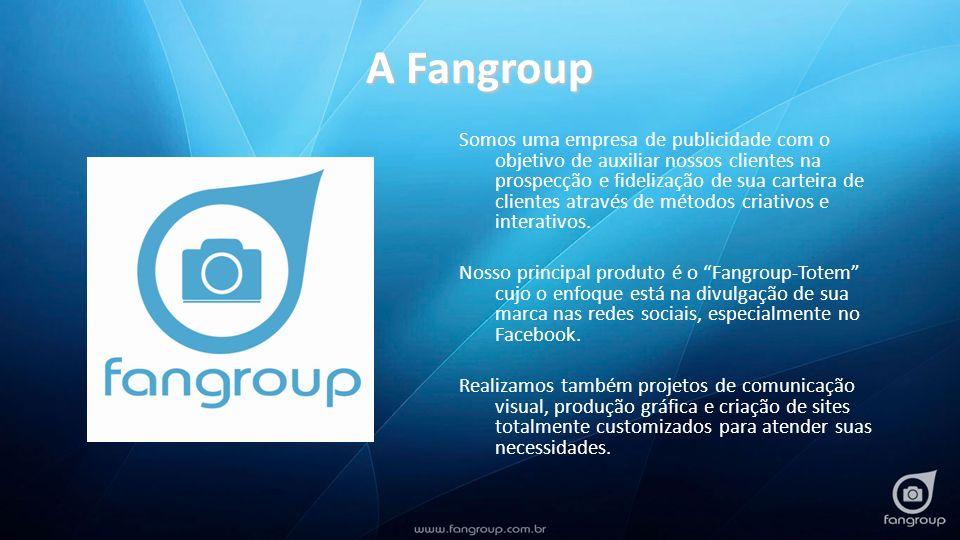 A Fangroup Somos uma empresa de publicidade com o objetivo de auxiliar nossos clientes na prospecção e fidelização de sua carteira de clientes através