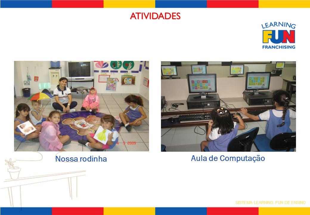 SISTEMA LEARNING FUN DE ENSINO ATIVIDADES Nossa rodinha Aula de Computação